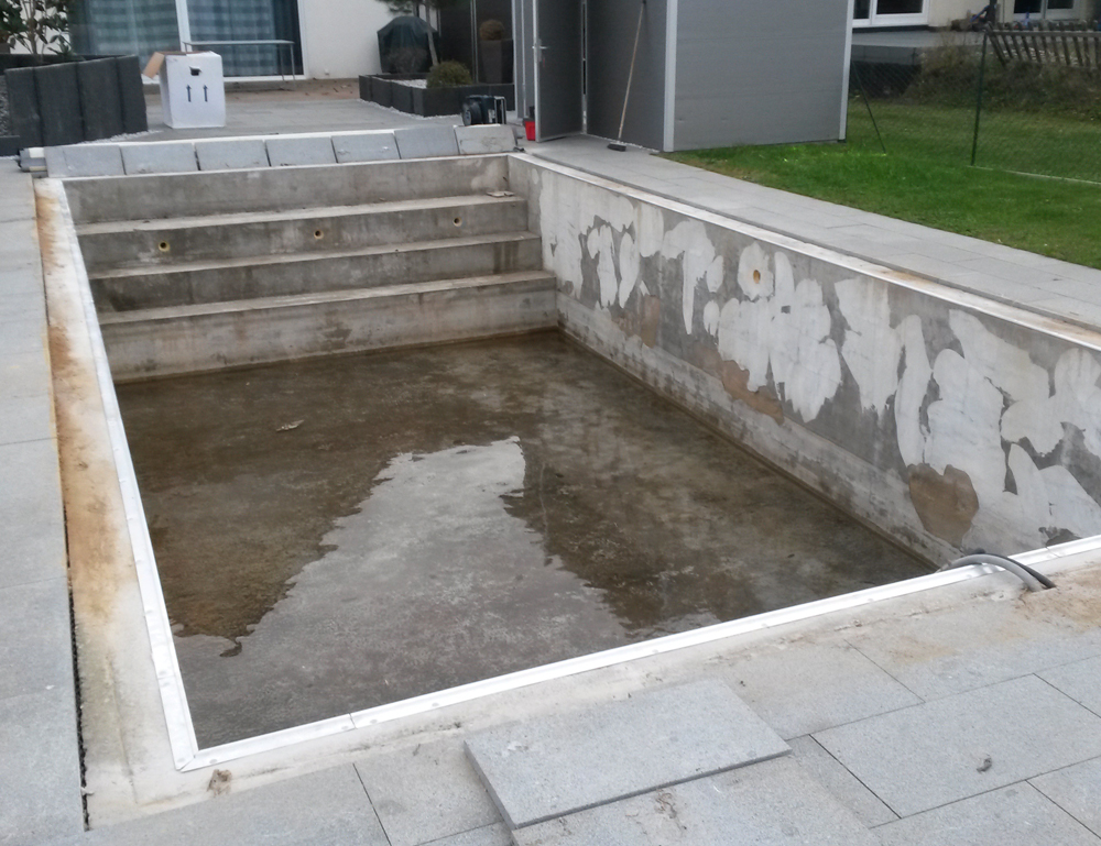 Rénovation piscine liner Alsace