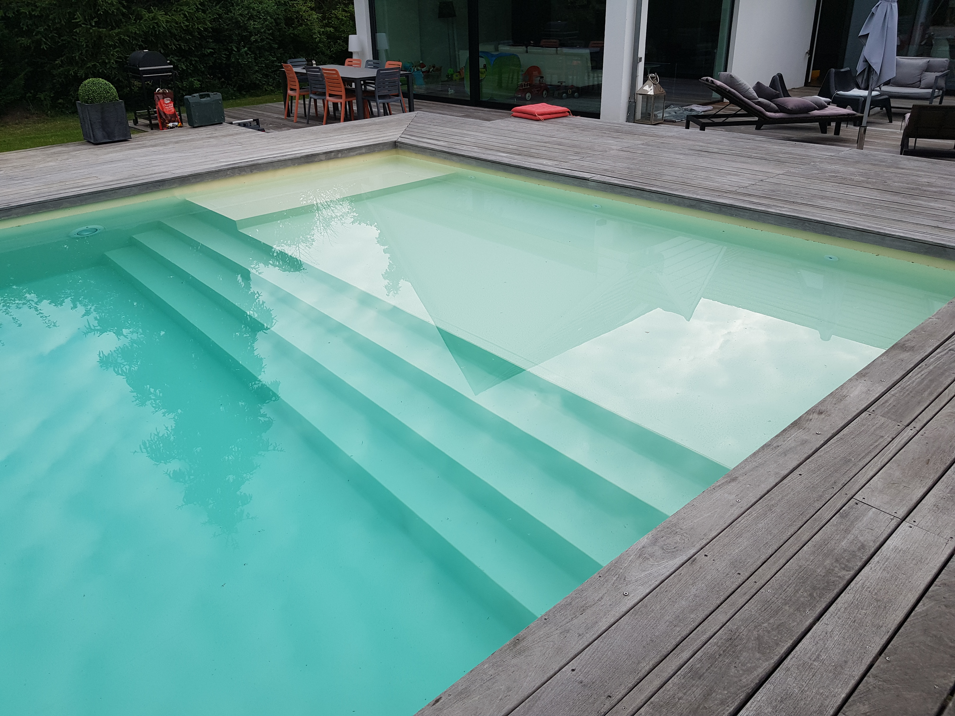 Conception de piscine